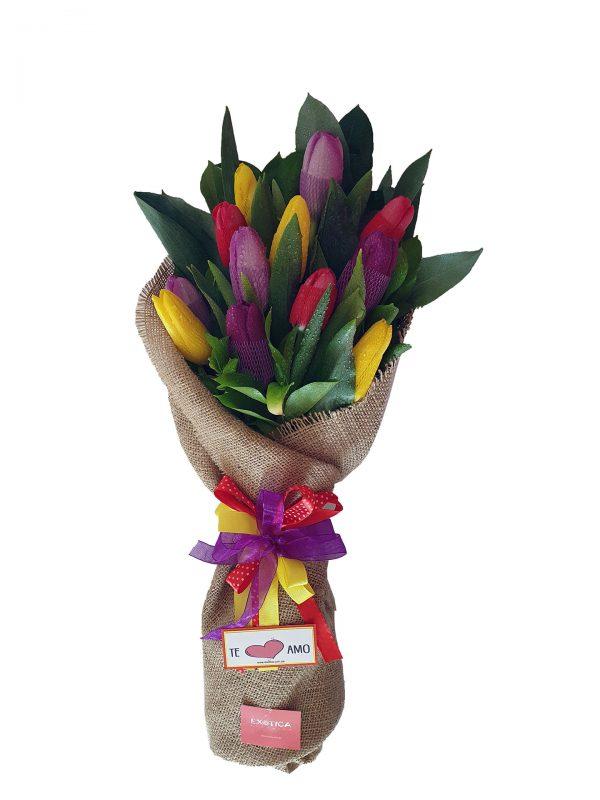 Ramo wawa x12 tulipanes
