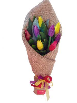 Ramo wawa 8 tulipanes